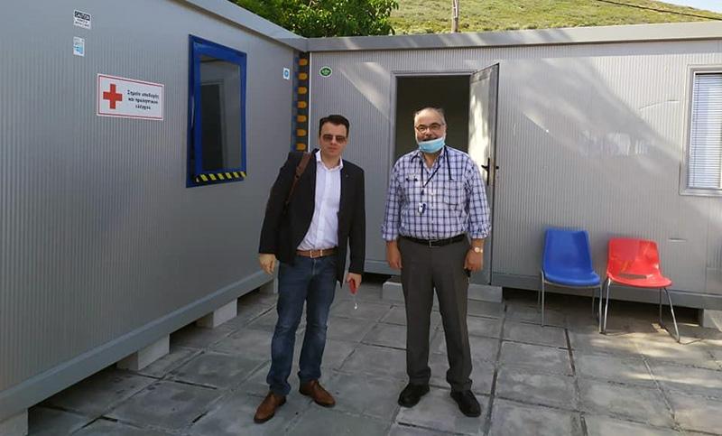 Ο διοικητής της 4ης ΥΠΕ επισκέφθηκε το Κέντρο Υγείας Πρίνου (φωτογραφίες)