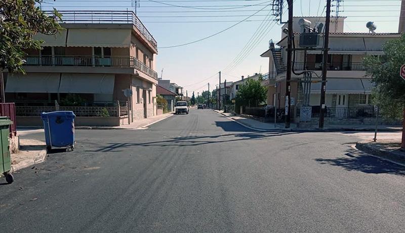 Δήμος Νέστου: Παραδόθηκε σε κυκλοφορία ο δρόμος στην οδό Φαναρίου (φωτογραφίες)