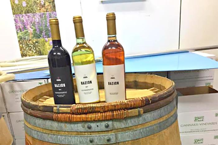 """Σκάλα Σωτήρα – Θάσος: Βιολογικό κρασί μικρής παραγωγής από το """"Κτήμα Γιαννάκη"""" που εξελίσσεται συνεχώς (φωτογραφίες)"""