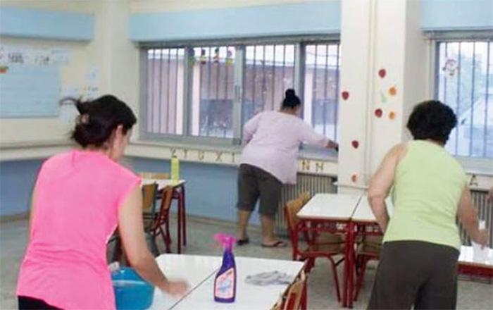Χρήστος Ποτόλιας: «Να μην απολυθεί κανένας εργαζόμενος στον καθαρισμό σχολικών κτιρίων»
