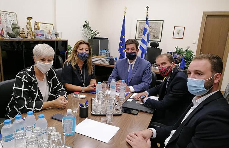 Επιμελητήριο Καβάλας: Συνάντηση & συζήτηση με την επικεφαλής του γραφείου Πρωθυπουργού Θεσσαλονίκης
