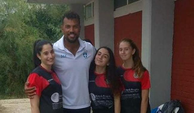 Η ομάδα του Αμυγδαλεώνα στο beach volley camp στην Αλεξανδρούπολη