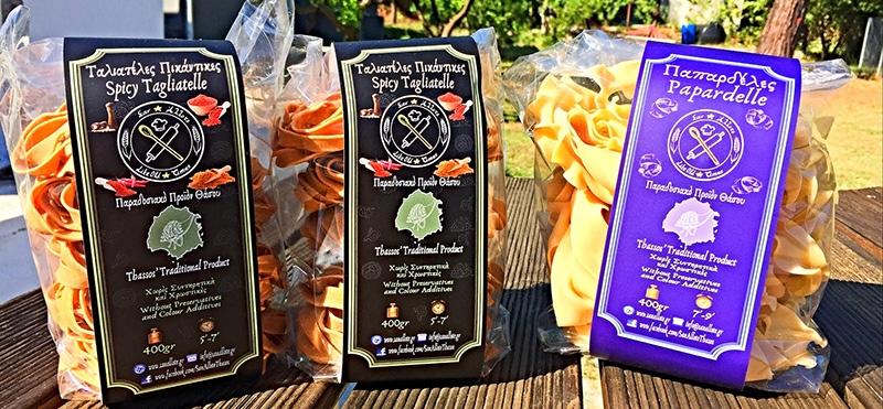«Σαν Άλλοτε»: Παραδοσιακά ζυμαρικά εκλεκτής γεύσης από το εργαστήριο ζυμαρικών στον Πρίνο Θάσου (φωτογραφίες)