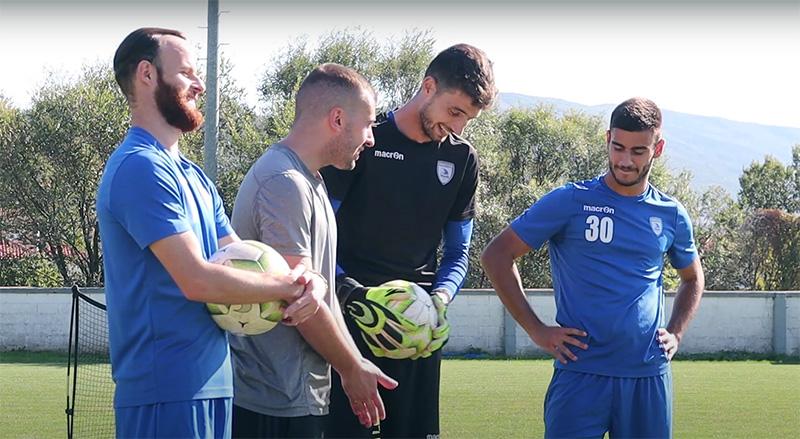Football Challenges του ΑΟΚ με Ορφανίδη – Παπαδόπουλο και… γκολάρες! (video)