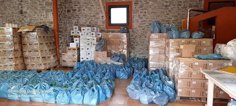 Δήμος Καβάλας: Ξεκίνησε η διανομή τροφίμων μέσω ΤΕΒΑ (φωτογραφίες)