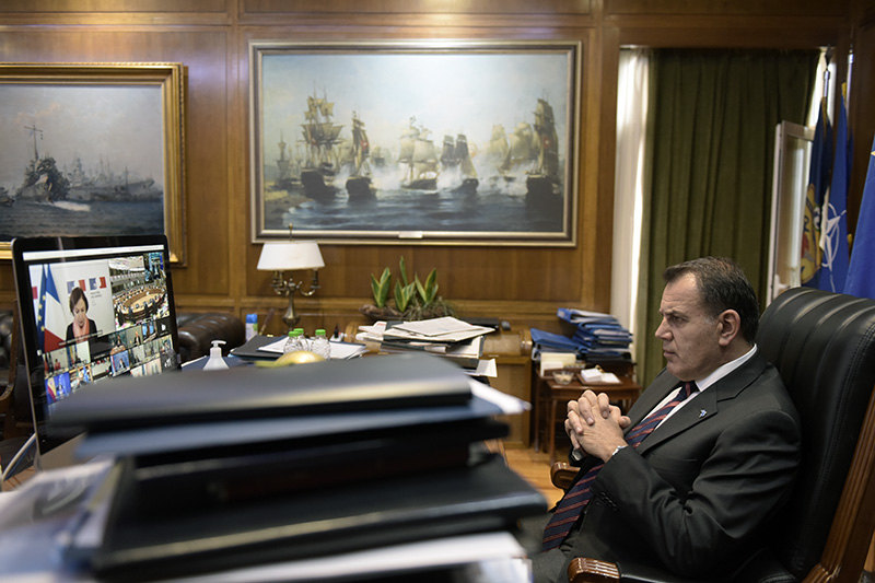 Ο Νίκος Παναγιωτόπουλος στην Άτυπη Σύνοδο Υπουργών Άμυνας της Ευρωπαϊκής Ένωσης (φωτογραφίες)