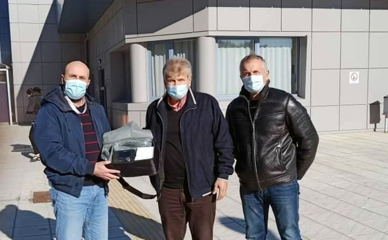 Δωρεά του Κυνηγετικού Συλλόγου Καβάλας στο Νοσοκομείο (φωτογραφίες)