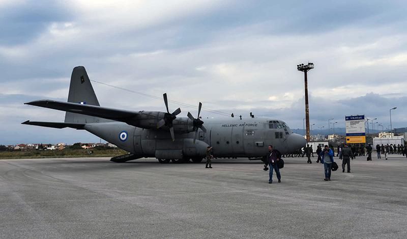 Με C-130 μεταφέρονται στην Αθήνα τρεις σοβαρά ασθενείς με κορωνοϊό από τη Βόρεια Ελλάδα!