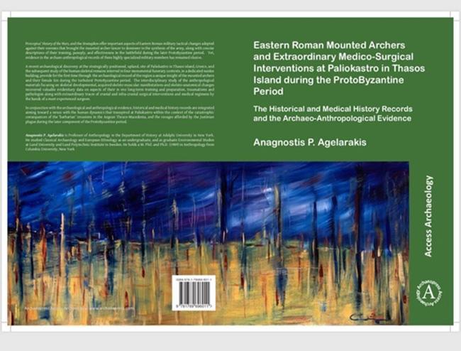 Πρόσφατα αρχαιολογικά ευρήματα στο ΠαλιόκαστροΡαχωνίου Θάσου: Το νέο βιβλίο του Αναγνώστη Π. Αγελαράκη