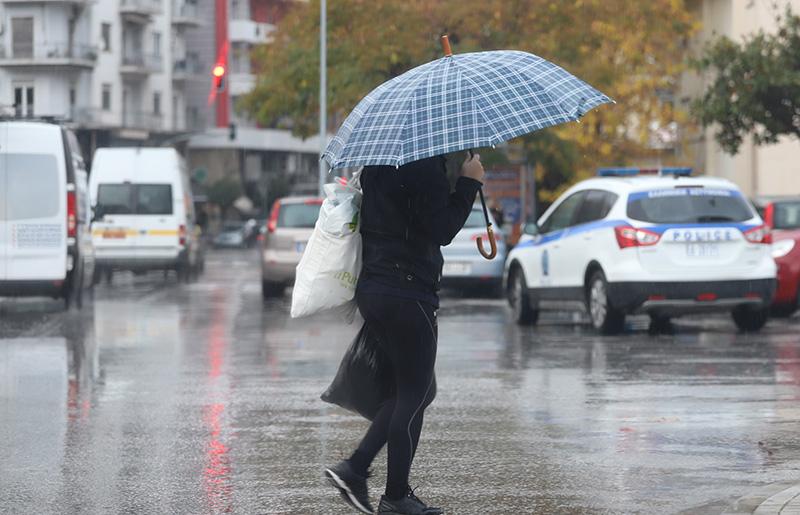 Πιθανές βροχές από την Παρασκευή έως την Κυριακή