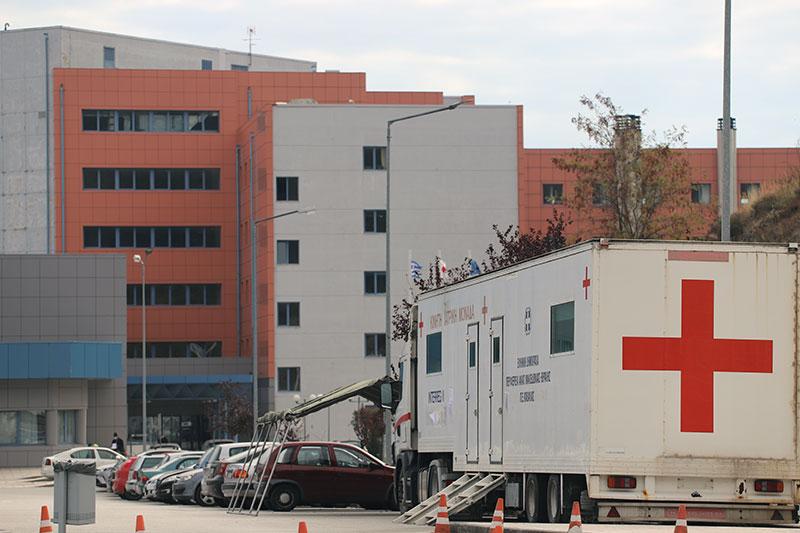 71 ασθενείς με κορωνοϊό στο Νοσοκομείο