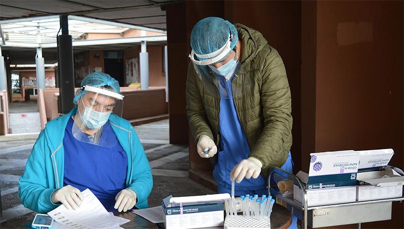 Rapid tests σε Κρηνίδες, Αυλή και Νικήσιανη