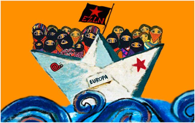 EZLN: Κατεύθυνση Ευρώπη
