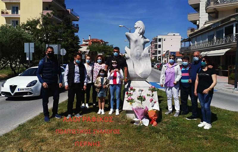 «Γιατί καταργήθηκε το μνημείο στη μνήμη της Γιαννούλας Ζέρβα;»