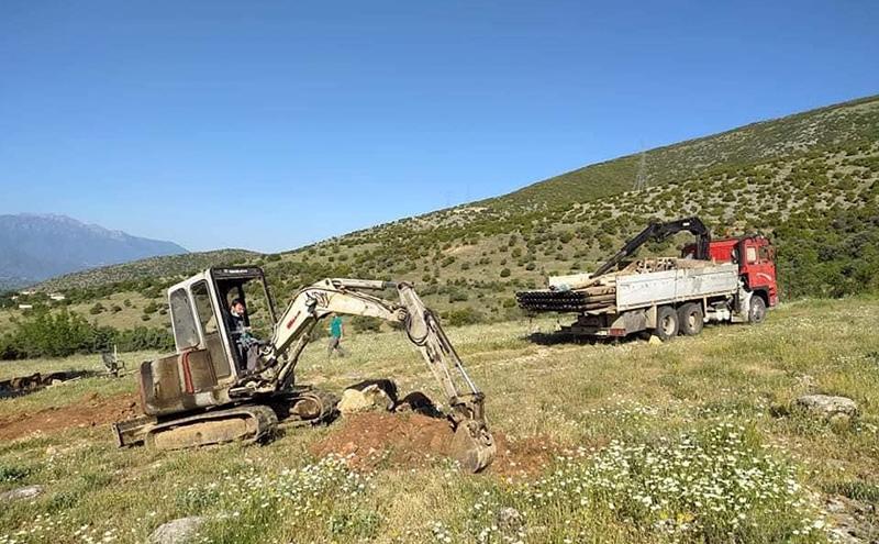 ΔΕΥΑΚ: Γεωτρητικές εργασίες στους Φιλίππους (φωτογραφίες)