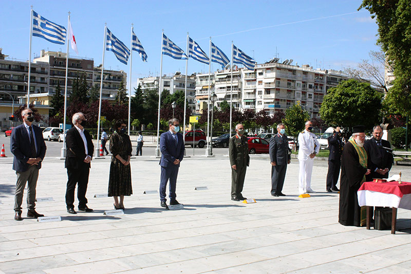 Εορτασμός εθνικών αγώνων και εθνικής αντίστασης