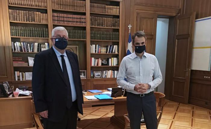 Συνάντηση Γιάννη Πασχαλίδη με Πρωθυπουργό για σημαντικά ζητήματα της Π.Ε. Καβάλας