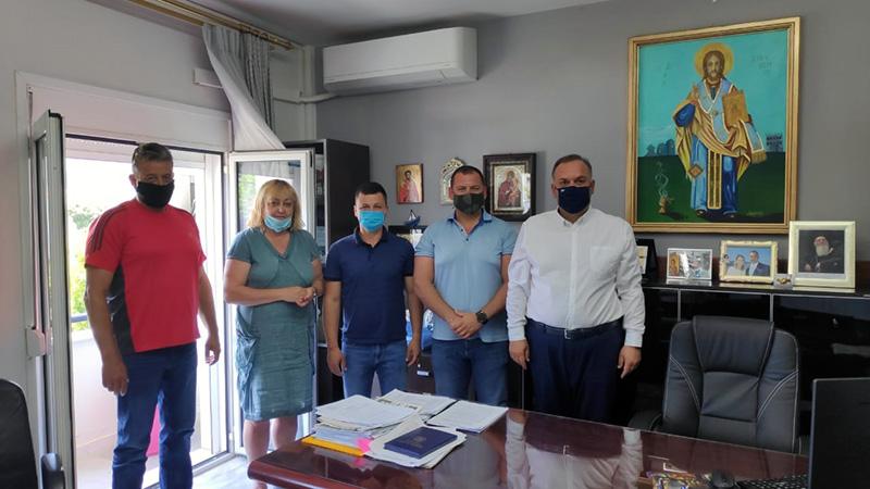 Συνάντηση Κυριακίδη – Gugzherov με φόντο τη συνεργασία των δύο Δήμων