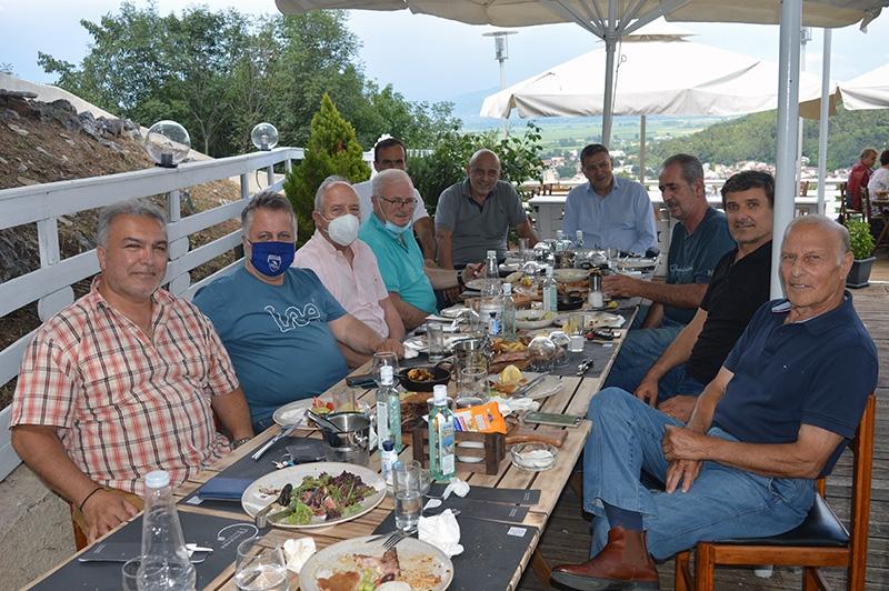 Αντιπροσωπεία της ΠΑΕ ΠΑΟΚ στην Ελευθερούπολη και γεύμα στο «Πευκόραμα»