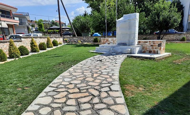 Όλα έτοιμα για τα αποκαλυπτήρια του μνημείου για τη Γενοκτονία των Ποντίων στον Αμυγδαλεώνα