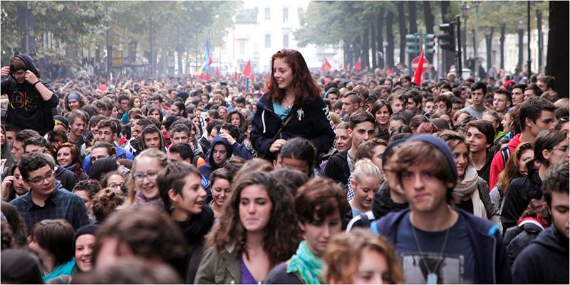 Στη Βενετία για να ανασυνθέσουμε τους αγώνες και Ζαπατίστας στη Μαδρίτη-Βαρκελώνη (φωτογραφίες)