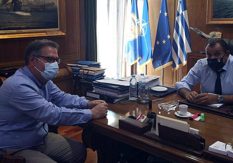 Με το Νίκο Παναγιωτόπουλο συναντήθηκε ο Κώστας Αντωνιάδης