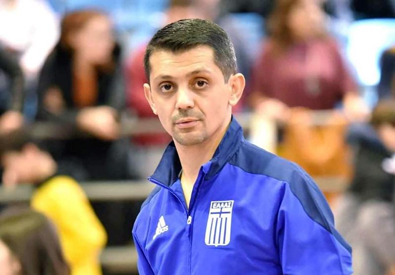Ο Χάρης Παλτόγλου προπονητής στην Εθνική Ομάδα Νέων Ανδρών/Νέων Γυναικών στο Πανευρωπαϊκό Πρωτάθλημα