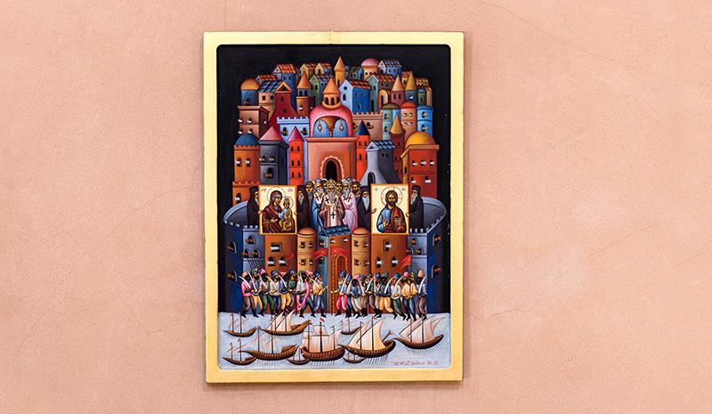 «μαΘητεία»: Έκθεση αγιογραφίας του Χαράλαμπου Γαμβρέλη στο Imaret (φωτογραφίες)