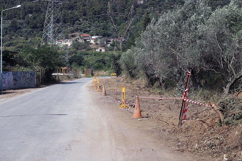 Κι όμως άρχισαν μικρές διανοίξεις δρόμων στο Περιγιάλι!