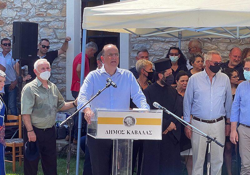 Μακάριος Λαζαρίδης: «Ευθύνη μας να διατηρούμε ''ζωντανή'' τη Γενοκτονία του Ποντιακού Ελληνισμού» (φωτογραφίες)