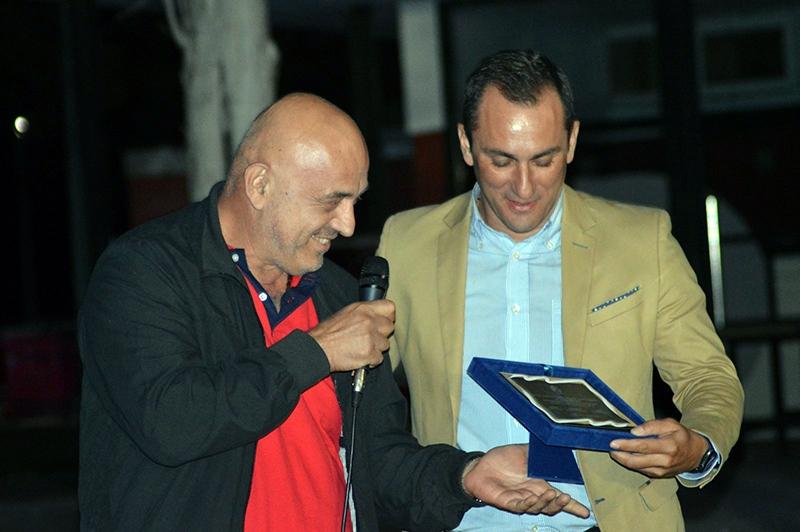 ΕΠΣΚ: Βραβεύτηκε ο Σταύρος Μάνταλος στον αγιασμό των διαιτητών (φωτογραφίες)