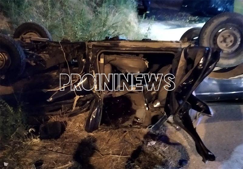 Θανατηφόρο τροχαίο στο Ορφάνι: Μετά τη σύγκρουση τα δύο οχήματα έπεσαν από γέφυρα τουλάχιστον 10 μέτρων (φωτογραφίες)