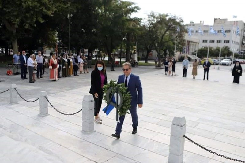 Η Π.Ε Καβάλας τίμησε την μνήμη της γενοκτονίας των Ελλήνων της Μικράς Ασίας