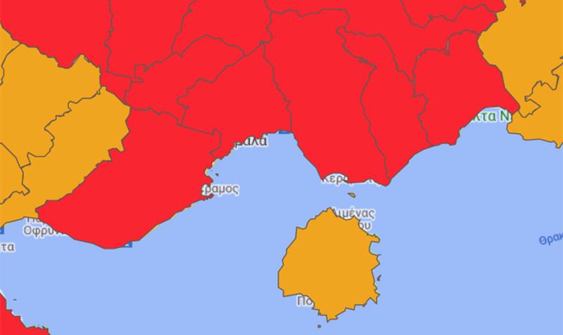 ΕΟΔΥ: 46 νέα κρούσματα στο Ν. Καβάλας