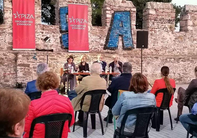 Δια ζώσης εκδήλωση του τοπικού ΣΥΡΙΖΑ για τα προβλήματα και τα θέματα της εκπαίδευσης (φωτογραφίες)