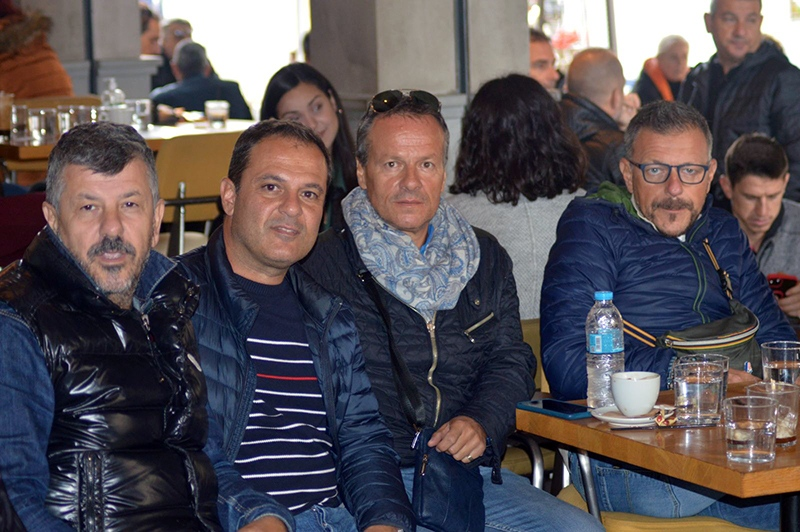 Οι Ιταλοί στην Καβάλα και στο No18 Downtown Coffee Bar για το 1ο scouting camp του Μουντιαλίτο (φωτογραφίες)