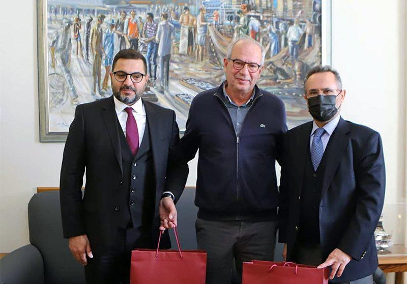 Συνάντηση του Θόδωρου Μουριάδη με τους Αντιδημάρχους Cekmecoy, Latif Cosar και Sahmettin Yuksel (φωτογραφίες)