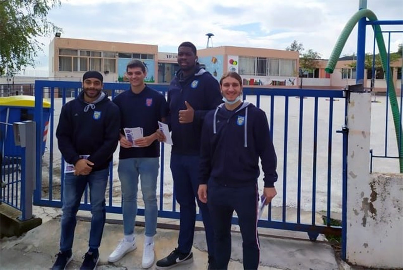 Ένωση Καλαθοσφαίρισης Καβάλας: Μπασκετική… έκπληξη στους μαθητές του 18ου Δημοτικού