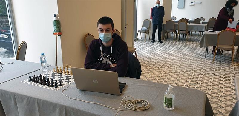 Σκακιστικός Όμιλος Καβάλας: Ο Καζάκος 6ος στο Ευρωπαϊκό «Υβριδικό» Πρωτάθλημα Νέων Κ18